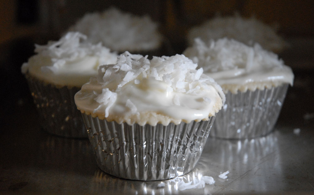 ... weekend this version combines coconut cupcake with coconut rum