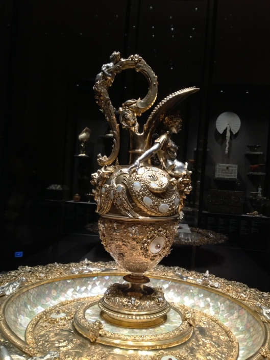 Nikolaus Schmidt, Ornamental Basin with Ewer, ca. 1592