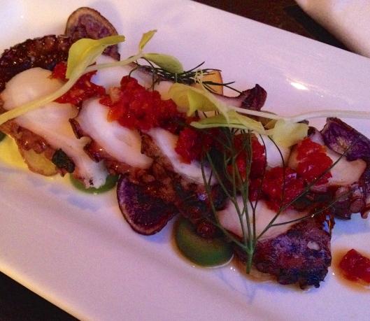 Octopus appetizer
