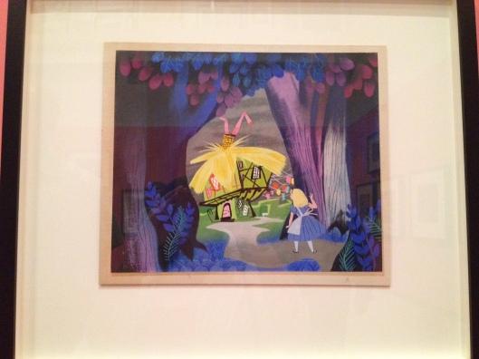 Mary Blair concept art for Alice in Wonderland. Copyright Walt Disney Family Museum.