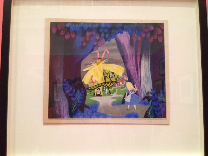 Mary Blair concept art for Alice in Wonderland. Copyright Walt Disney Family Museum.